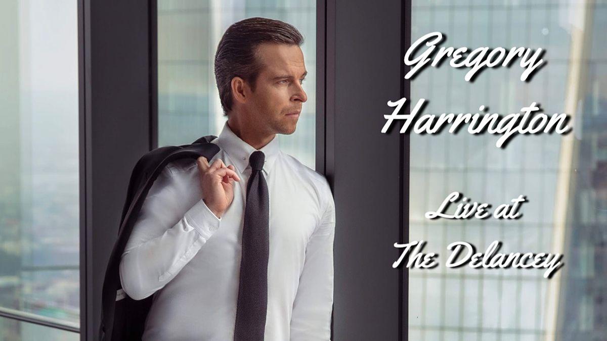 Gregory Harrington - Live at the Delancey
