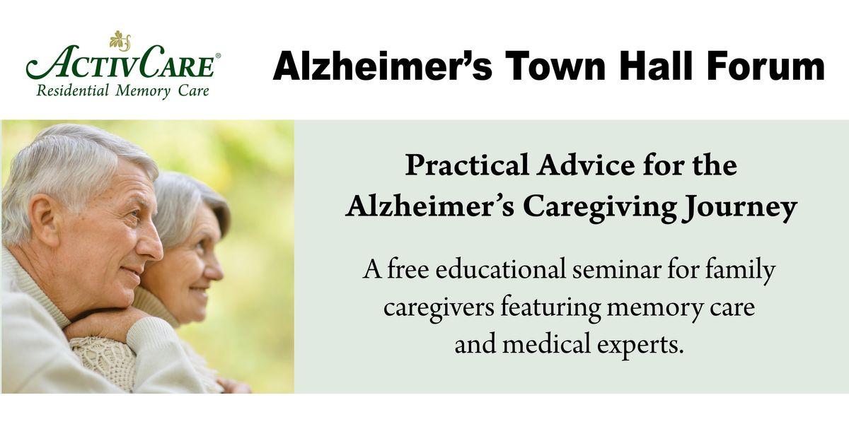 Alzheimer's Town Hall Forum
