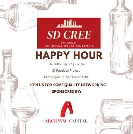SD CREE Happy Hour