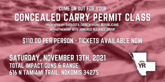 Concealed Carry Class - Operated by Armored Alliance Group