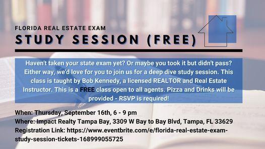 FL Real Estate Exam Study Session