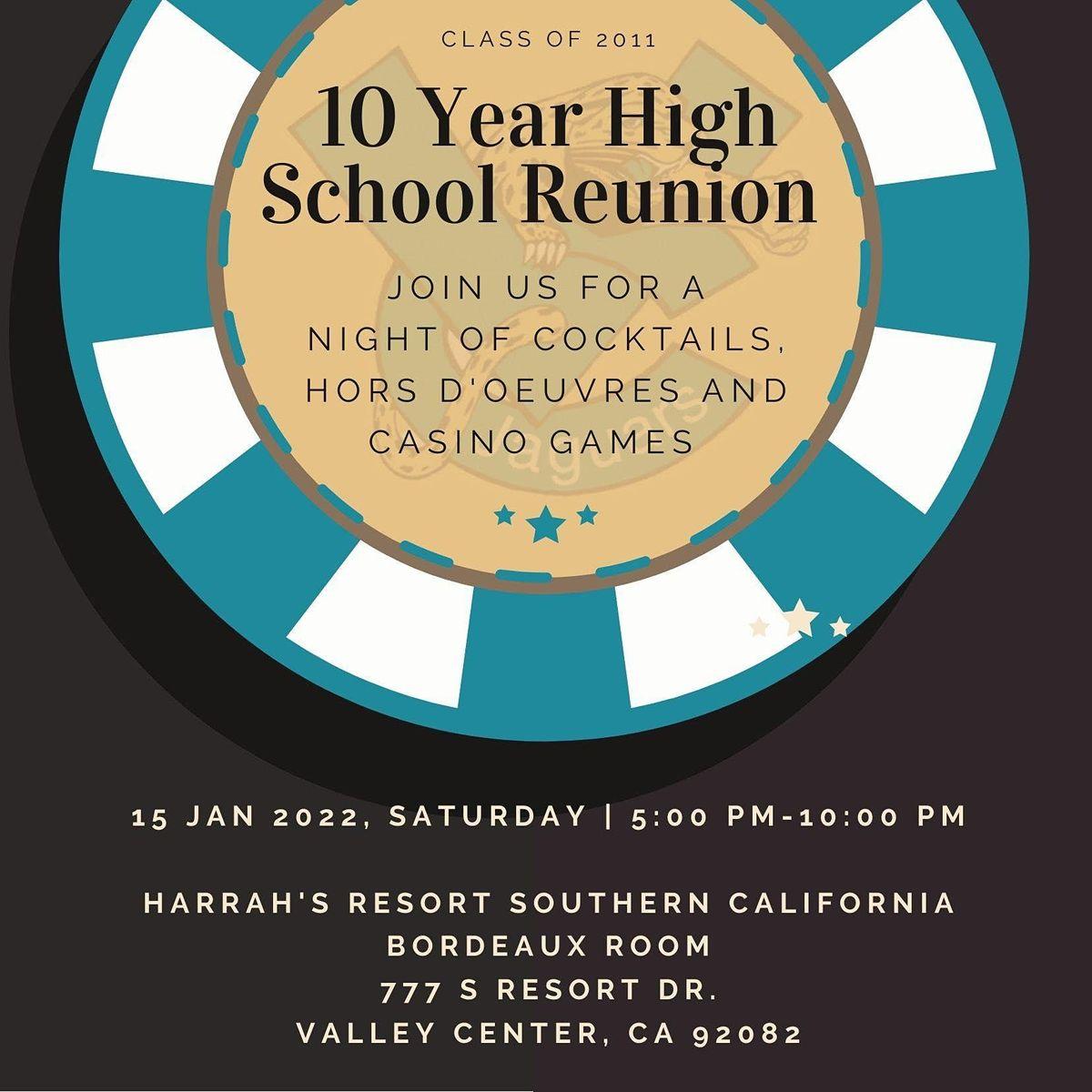 VCHS 2011 Class 10 Year High School Reunion