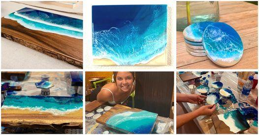 Sip+Spill Artist Workshop with Holly Weber