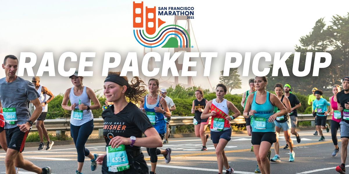 The San Francisco Marathon 2021 Team\/Group Pickup-Vaccinated Only