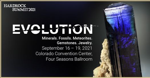 Evolution: Gem, Mineral, and Fossil Show