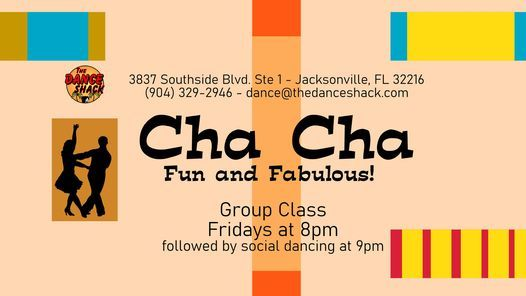 Friday Cha Cha Class and Dance Social