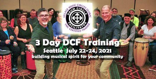 Seattle 3 Day VMC Drum Circle Facilitation Playshop