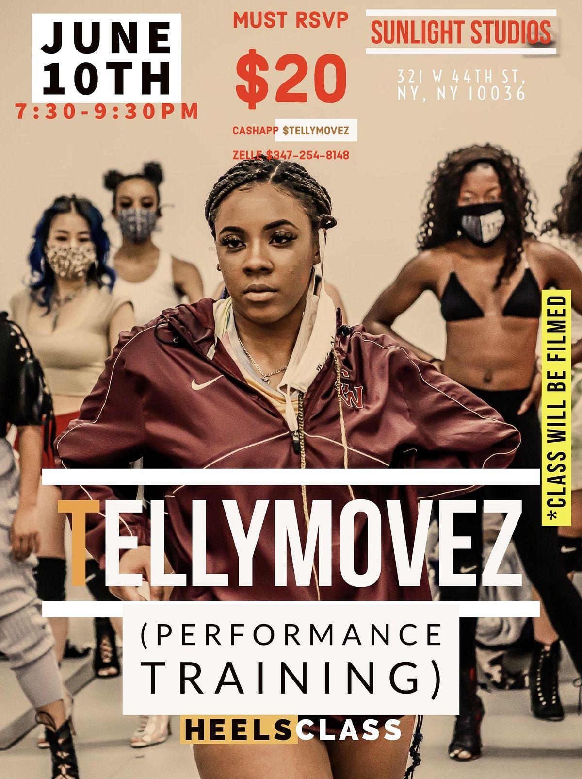 Freee Tellymovez Heels Class