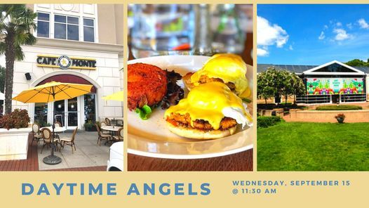 Daytime Angels Lunch at Cafe Monte and Tour of Mint Museum