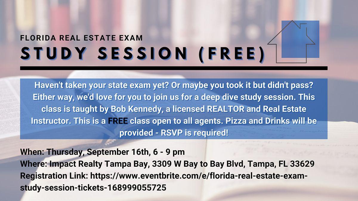 Florida Real Estate Exam Study Session