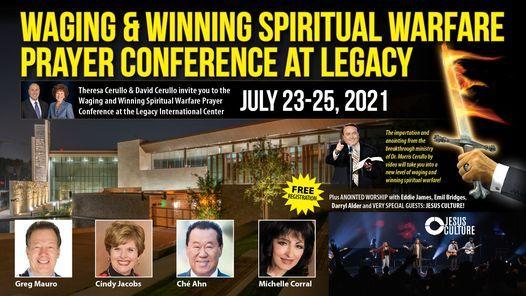 Waging And Winning Spiritual Warfare Prayer Conference!