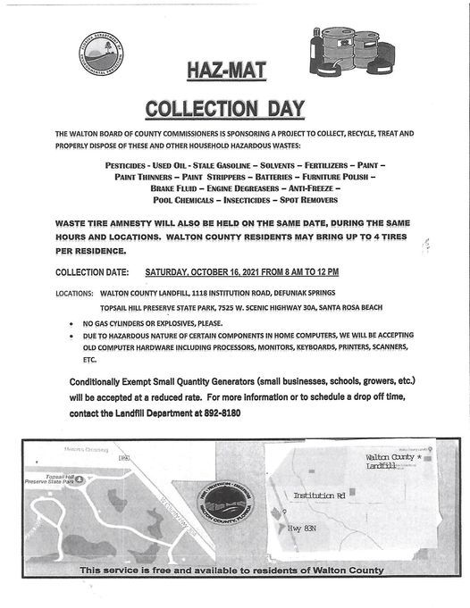 HAZ-MAT COLLECTION DAY