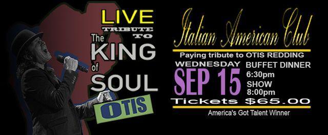 Live Tribute to Otis Redding