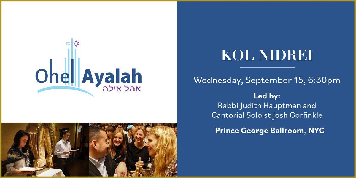 Yom Kippur Kol Nidrei - 6:30pm