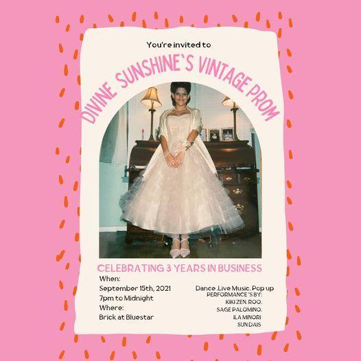 Vintage Prom (Divine Sunshine's 3 year anniversary party)