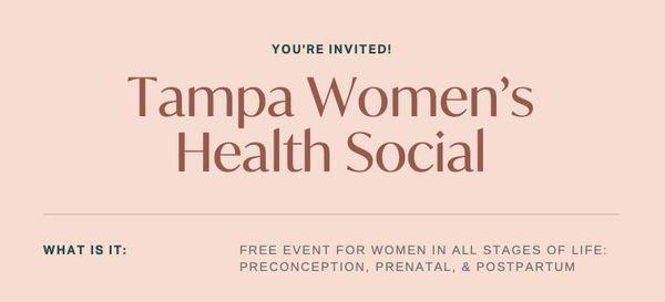 Tampa Women's Health Social