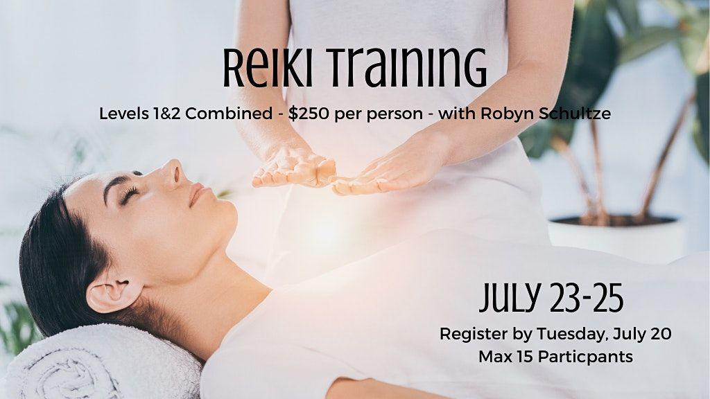 Reiki Training - Levels 1 & 2