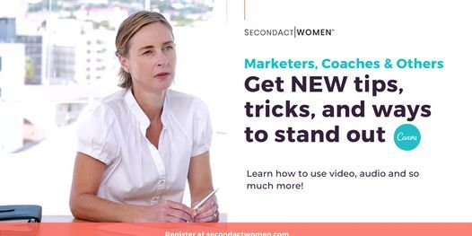 Canva Class: Learn Video, Audio and Other Tricks to Stand Out