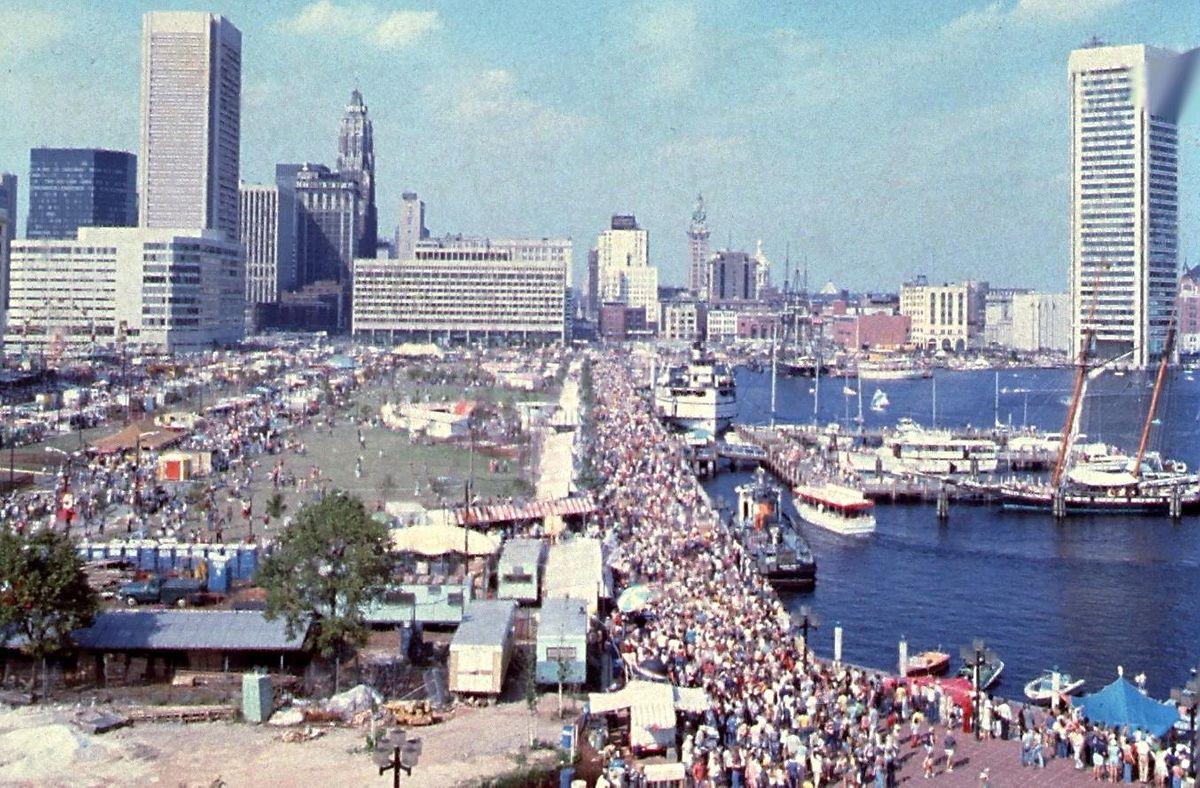 The Development of Baltimore's Inner Harbor
