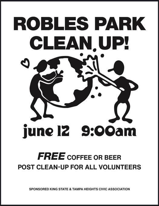 Robles Park Cleanup