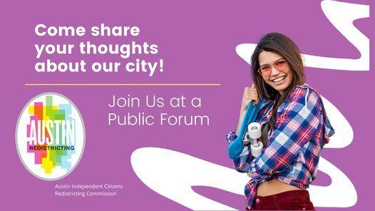 Austin Redistricting Public Forum 2