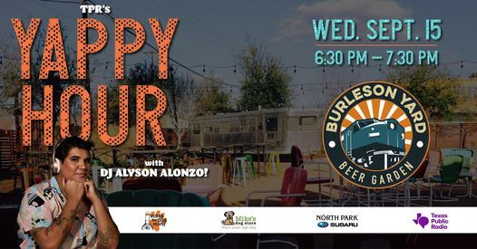TPR's Yappy Hour!
