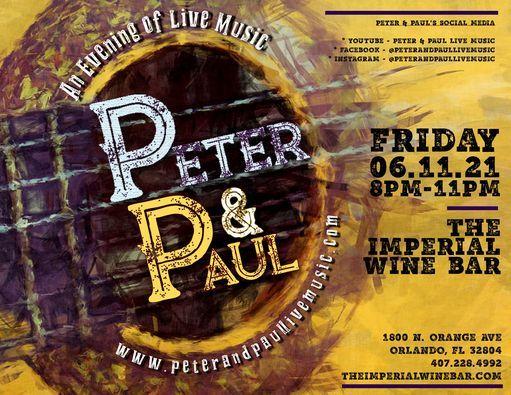 Peter & Paul Imperial Gig 06.11.21