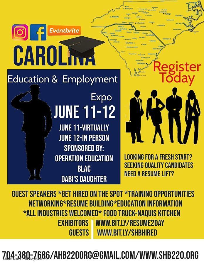 Carolina Education and Employment Expo-Charlotte Edition