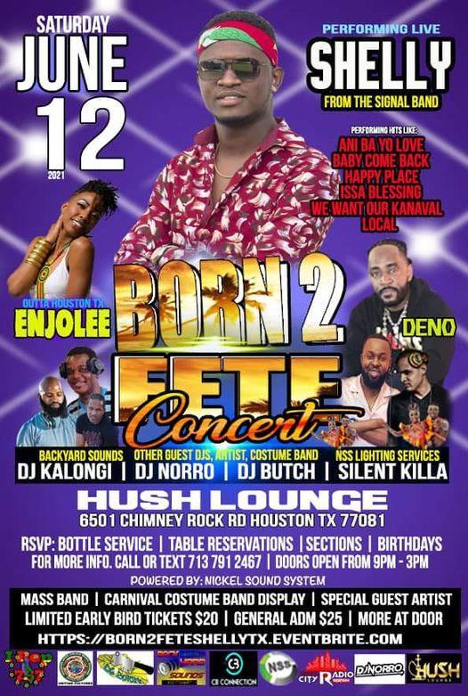 Born 2 Fete Concert 6\/12