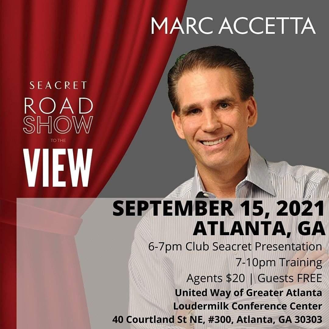 Atlanta Seacret Revealed w\/ Marc Accetta