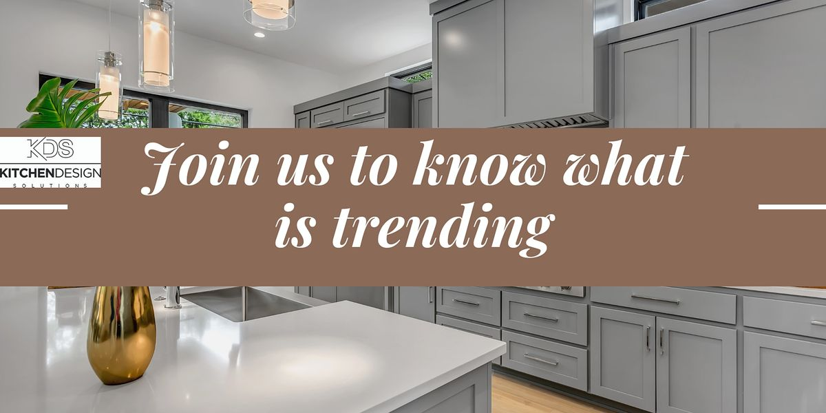 Free Webinar On Trending Kitchen Designs In Savannah Online November 17 2021