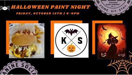 Halloween Paint Night!