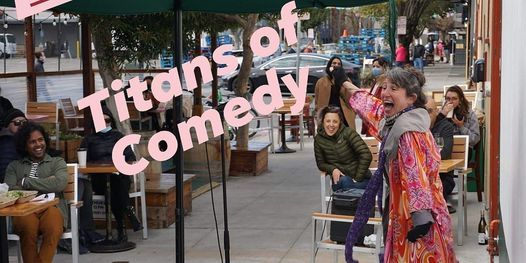 Titans of Comedy at Atlas Cafe