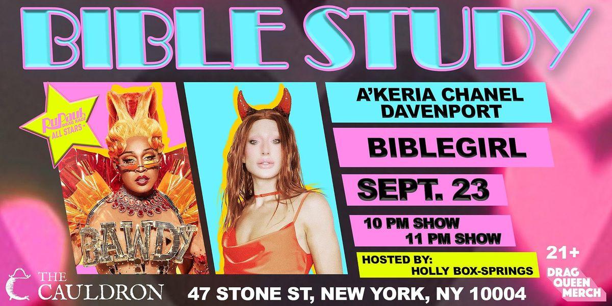 A'KERIA DAVENPORT & BIBLEGIRL @ THE CAULDRON NYC