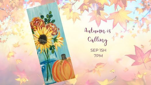 Autumn is Calling (Real Wood Board!)