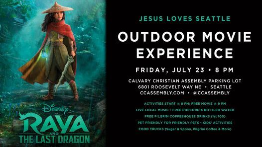 Jesus Loves Seattle Outdoor Movie Experience