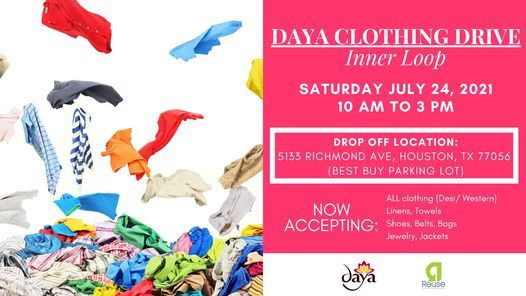 Daya Clothing Drive - Inner Loop