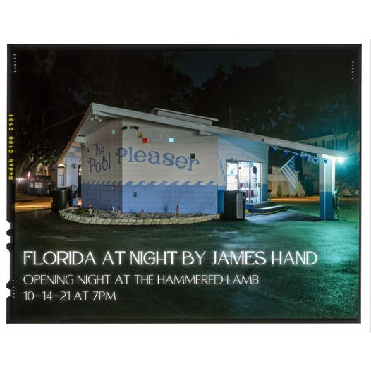 Florida at Night by James Hand Photography Opening