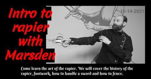 Intro to rapier with Marsden