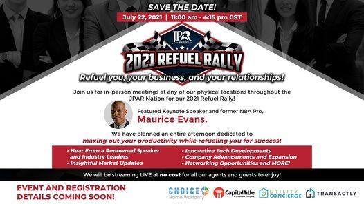 2021 JPAR REFUEL RALLY for REALTORS [WATCH PARTY]