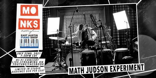 Math Judson Experiment - Livestream Concert w\/In-Studio Audience