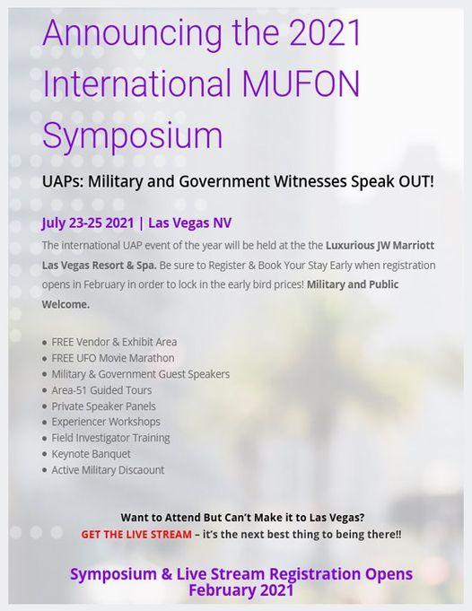 2021 MUFON Symposium