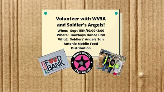 Volunteer with WVSA and Solders' Angels!