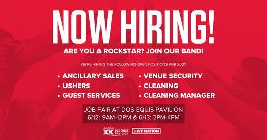 Dos Equis Pavilion Job Fair