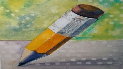 Beginning Watercolor with Kathy Edwards 1 of 2 \u2013 In Person
