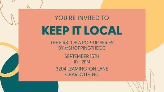 Keep It Local - Pop Up Shop
