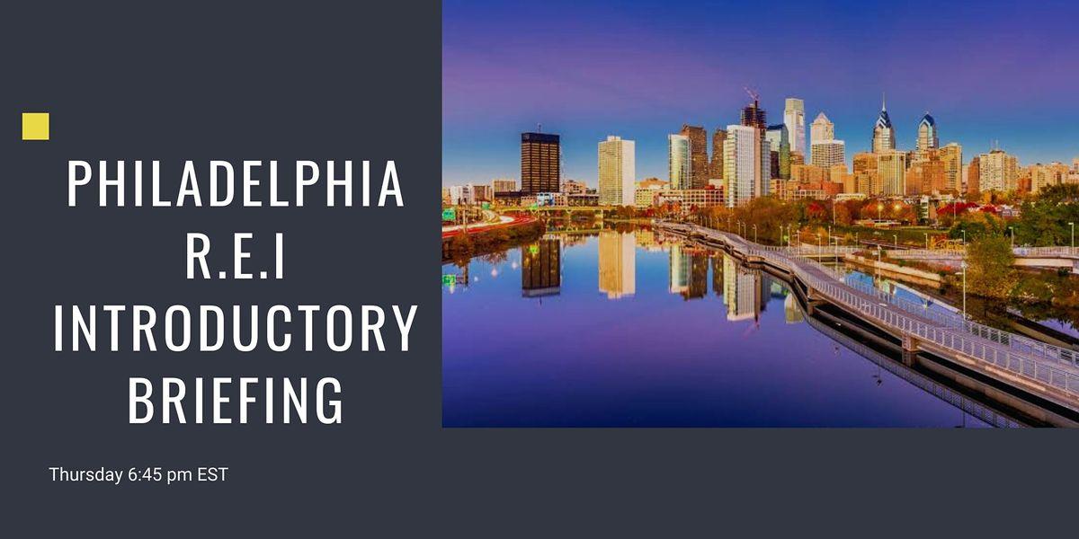 Real Estate Investors Introductory Briefing | Philadelphia (Virtual)