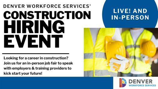 Construction Careers Hiring Event