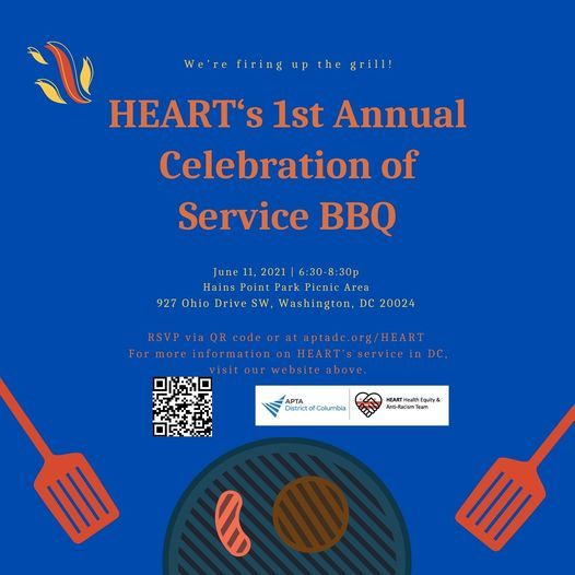 HEART Annual BBQ - One Year of Service