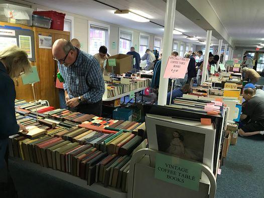 Annual Book Sale @ Holcomb Farm